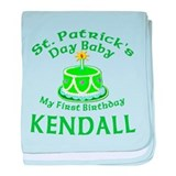 Personalized for Kendall baby blanket