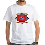 Tennessee Flag White T-Shirt