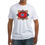 Tennessee Flag Fitted T-Shirt