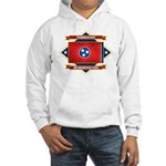 Tennessee Flag Hooded Sweatshirt