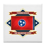 Tennessee Flag Tile Coaster