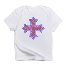 Violet Coptic Cross Infant T-Shirt