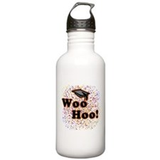 Cool Masters of education graduation Water Bottle