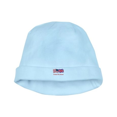 London US flag t-shirts baby hat