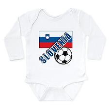 Unique Slovenia Long Sleeve Infant Bodysuit