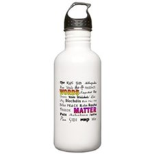 PEACE in 29 Languages Water Bottle