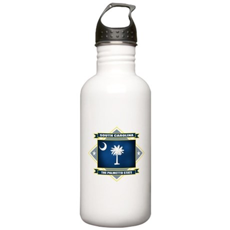 South Dakota Diamond Stainless Water Bottle 1.0L