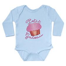 French Cupcake Petit Gateau Long Sleeve Infant Bod