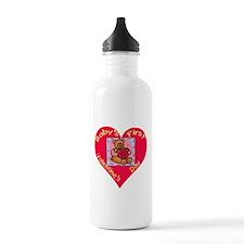Cute My first valentine Water Bottle
