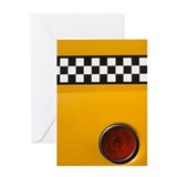 Checker Cab No.1 Greeting Card