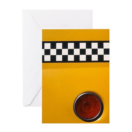 Checker Cab No.1 Greeting Card