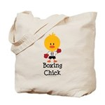 Boxing Chick Tote Bag