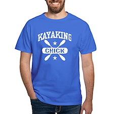 Kayaking Chick T-Shirt