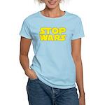 Stop Wars Women's Light T-Shirt