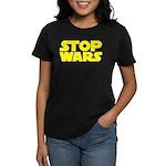 Stop Wars Women's Dark T-Shirt