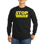 Stop Wars Long Sleeve Dark T-Shirt