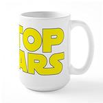 Stop Wars Large Mug