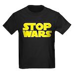 Stop Wars Kids Dark T-Shirt