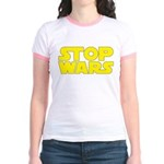 Stop Wars Jr. Ringer T-Shirt