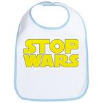 Stop Wars Bib