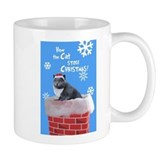 Unique Holiday cat Mug