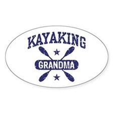 Kayaking Grandma Decal