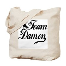 Team Damon Tote Bag