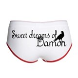 Sweet Dreams of Damon PJs Women's Boy Brief
