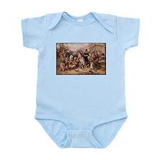 Cute Pilgrims Infant Bodysuit