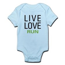 Live Love Run Infant Bodysuit