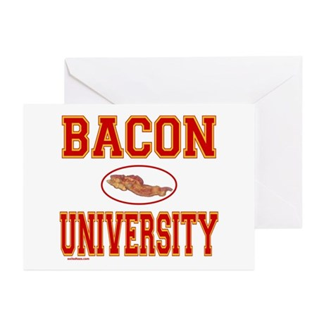 BACON/PORK Greeting Cards (Pk of 10)