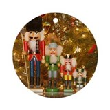Christmas Ornament (Round) :nutcrackers