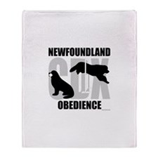Newfoundland CDX Title Throw Blanket