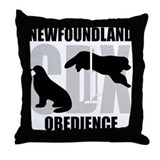 Newfoundland CDX Title Throw Pillow