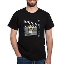 Director Clapboard Black T-Shirt