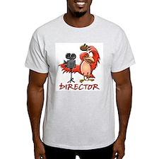 Director Ash Grey T-Shirt