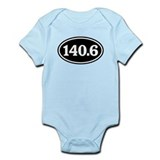 140.6 Triathlon Oval Onesie