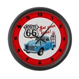 Get Your Kicks! Large Wall Clock