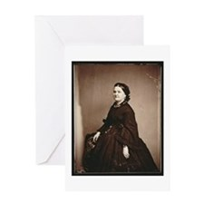 Mary Todd Lincoln Greeting Card