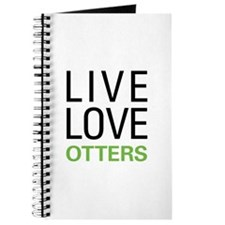 Live Love Otters Journal