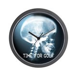 Funny Disc golf Wall Clock