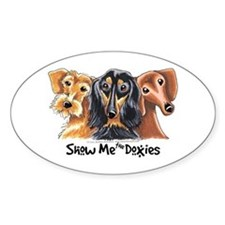 Show Me Doxies Decal