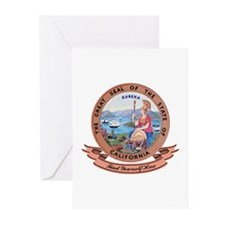 California Seal Greeting Cards (Pk of 10)