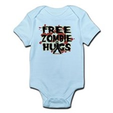 Free Zombie Hugs Infant Bodysuit