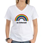 So Intense Women's V-Neck T-Shirt