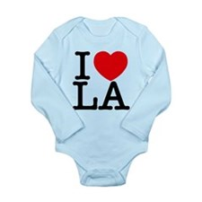 Unique I love ca Long Sleeve Infant Bodysuit