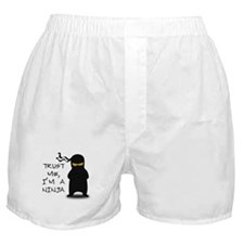 Trust Me, I'm A Ninja Boxer Shorts