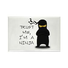 Trust Me, I'm A Ninja Rectangle Magnet