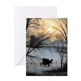 Cute Amish Greeting Card