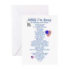 Military Love Poem Greeting Card